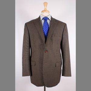 Ralph Lauren 44R Brown Sport Coat Y417